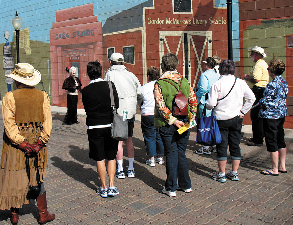 A recent Historical Walking Tour.