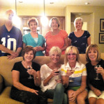 Members of Read Between the Wines book club