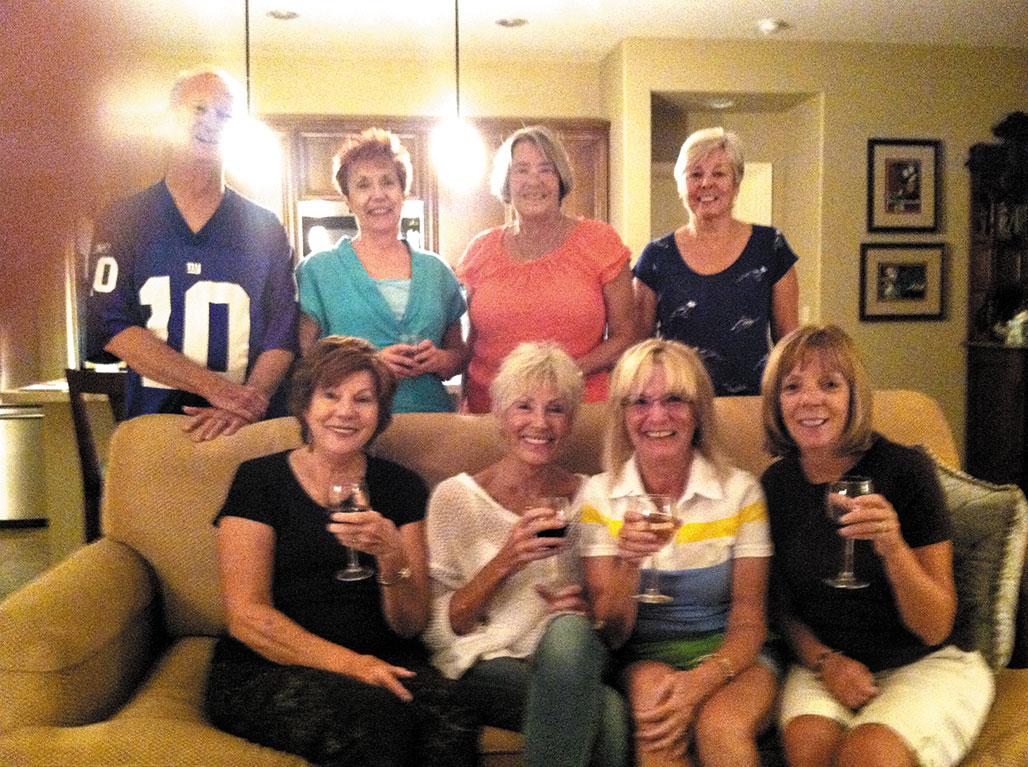 Members of Read Between the Wines book club
