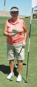 Kathy Holwick gets her first Ace!