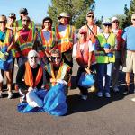 The Adopt A Highway volunteers.