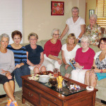 Left to right, seated: Jill Lui, Pat Jegge, Jane Kihlstrom, Meg Haber, Charlotte Best, Phyllis Flail and Sandy Culpepper; standing: Pat Paulsen and Barbara Engelhardt; absent: Fran Fowler and Mary Kim.