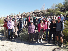 Members of the Robson Ranch Hiking Club