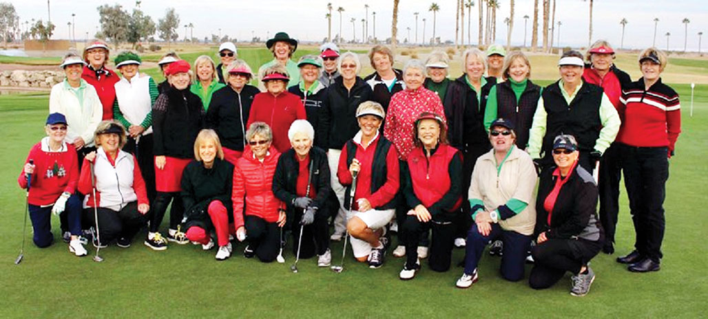 RRLGA bundles up for its annual Red and Green Tournament.