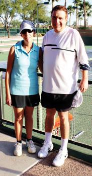 Barbara Sewell and Rami Mayron