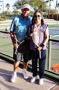 Tom Harris and Margaret Tom