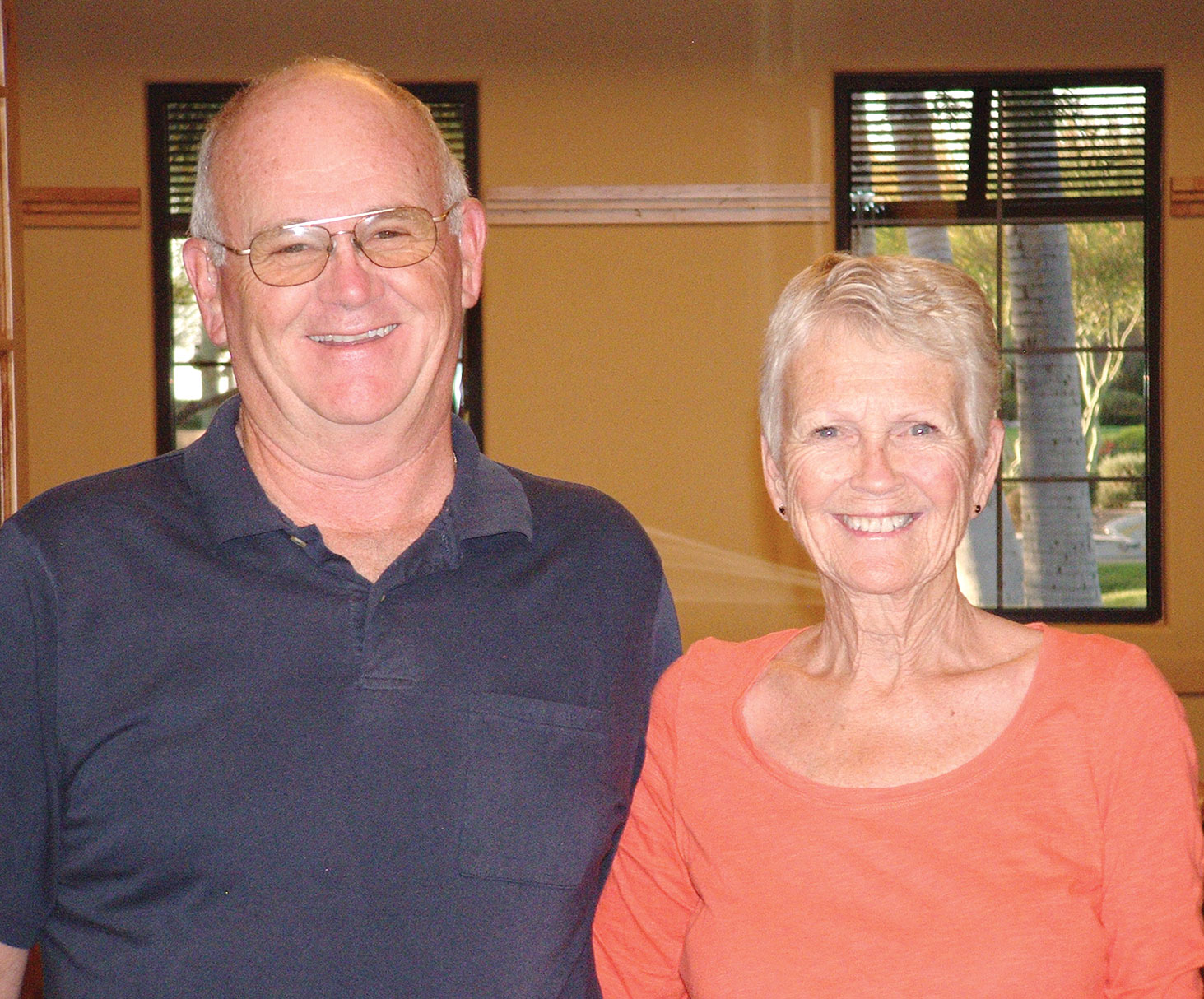 Third place, Rick and Nancy Taylor
