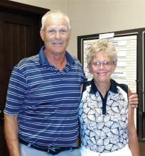 Flight one, third place: Eldon Lee and Shirley Eliuk