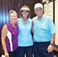 Flight two, second place: Candy Burtis, owner, Dee Lee and Lyn Worner