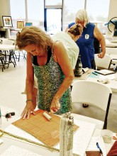 How to texture your piece, Debbie Johnson