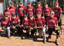 The Robson Ranch Sandstorm softball team