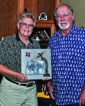 Charlene Rule, desert art, and Bob Spille, Arizona landscape painter, will display their work at the next Casa Grande Studio Tour.