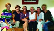 Left to right: Betsy Piatt, Joanne Heiman, Julie Kostroski, Debby Harris, Barb Sewell and Mary Lynn Mori