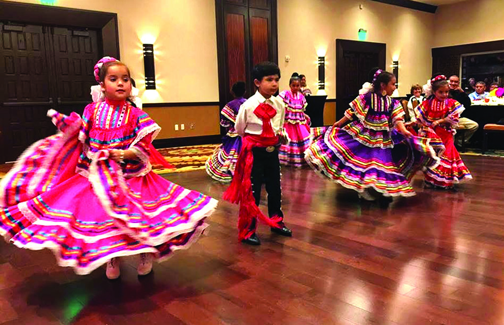 Dancers from Ballet Folklórico de Phoenix. Photo by Jane Khilstromaz