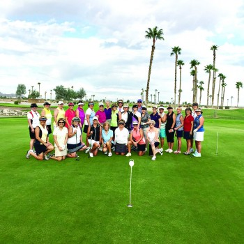"29 ladies participated in RRLGA's ""All Par 3s"" opening day."