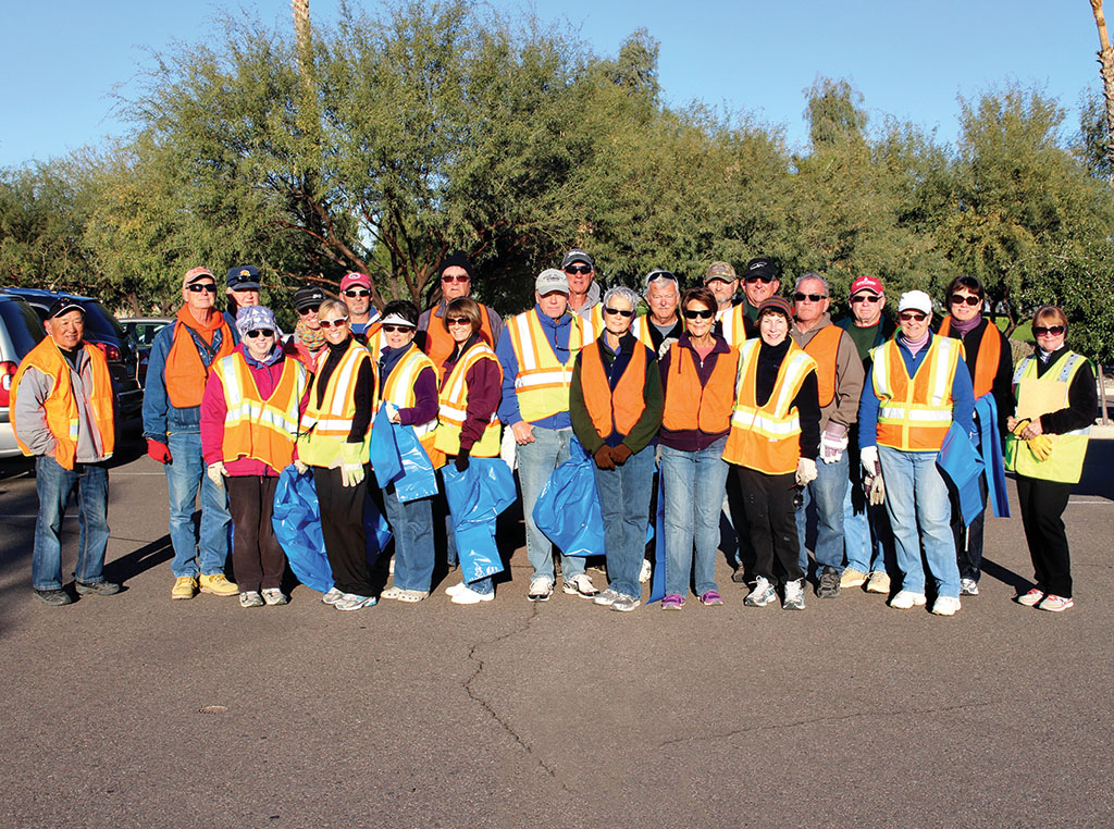 The December 1 Adopt A Highway crew