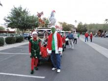 Ron and Kim Gibbs, parade leaders