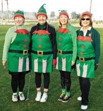 Green Team Elves: Judy, Jeri, Barbara and Jan