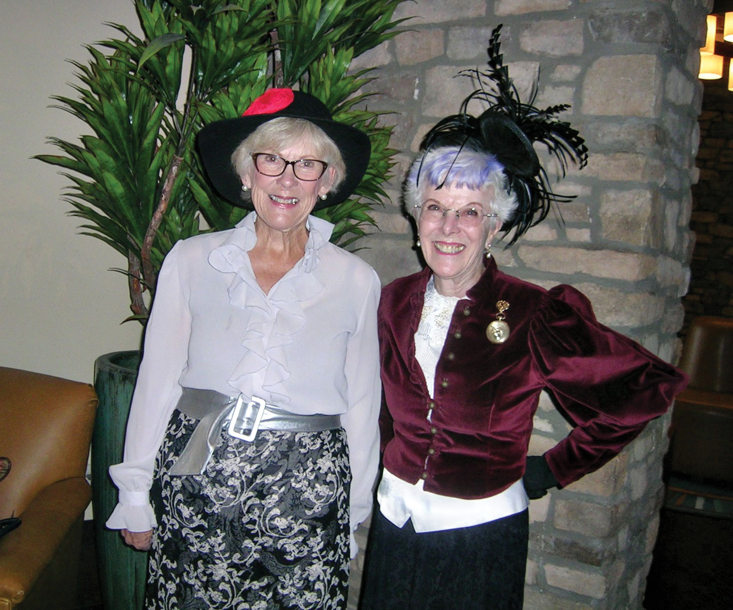 Marilyn Gallagher and Marge Jantz