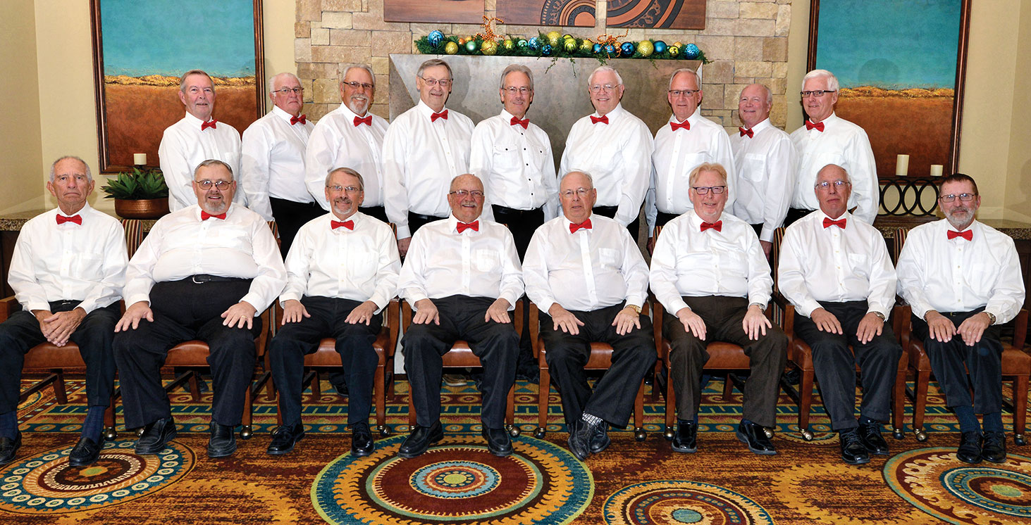 The men of the choir