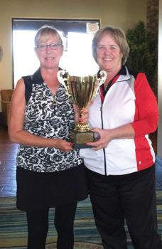Barbara Gayer, left, and MaryLou Walton, Tournament Chair
