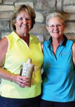 Recipient MaryLou Walton and RRLGA President Bobbie Johnson