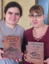 Bridget Alvarez and Johanna Hoggart