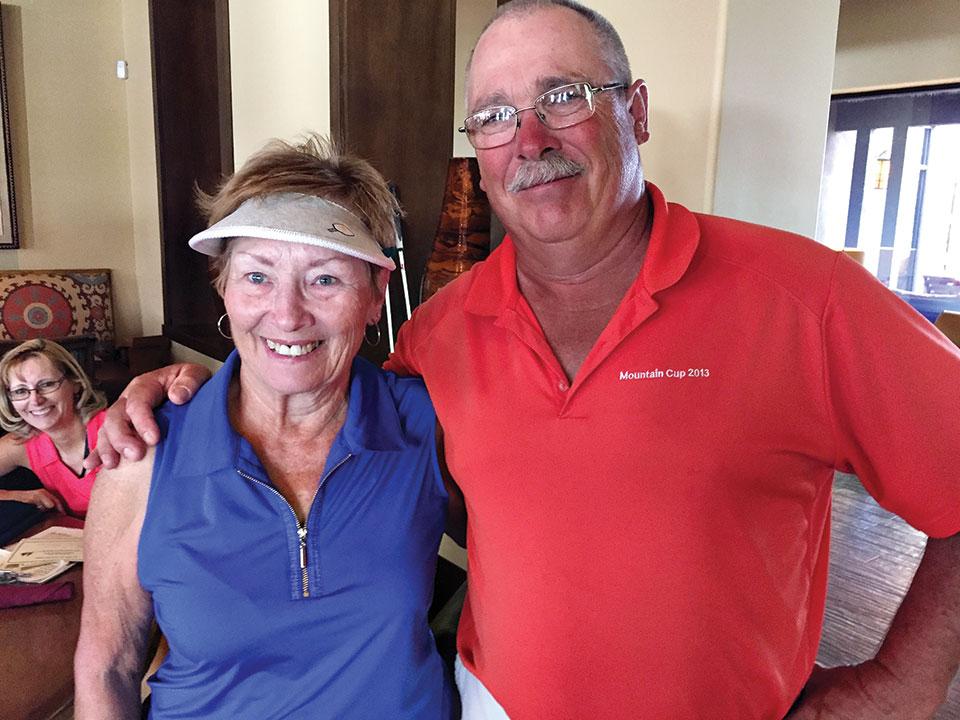 Second Place April 13: Judy Gottsch and Terry Kumbera