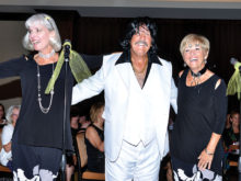 Lisa Hunt, Lyn Worner, Sue Waibel as Tony Orlando and Dawn; Photo by Charlene Rule