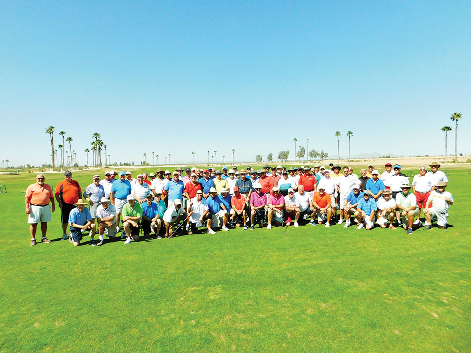 The Member/Guest tournament participants