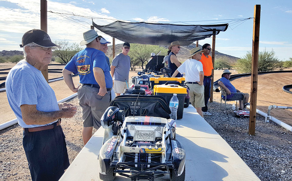 Racers show up all summer to test their skills.