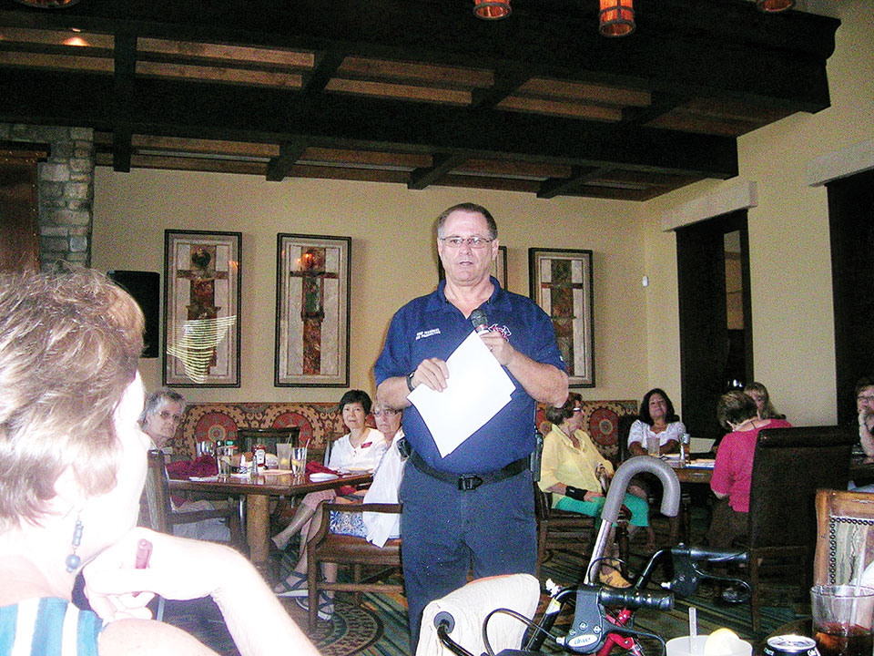 Bob Poindexter, Eloy Fire Marshall