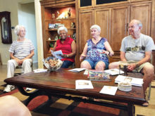 Visitors from Eloy: Toni McCants, Ladjamaya Green, Doris Rasmussen and Roger Rasmussen