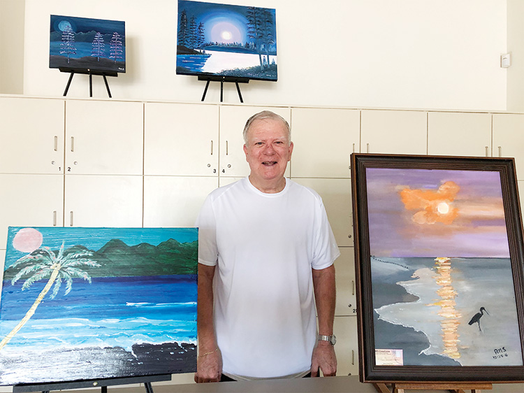 Bob Smith, Artist of the Month