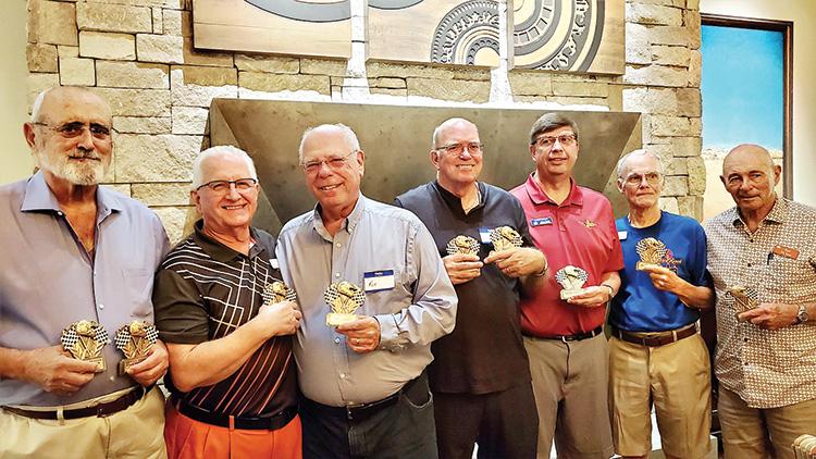 Left to right: Dave Handlen, Bill Engler, Ken Herman, John Wray, Darrin Ziegler, Richard King, and Ken Haines.