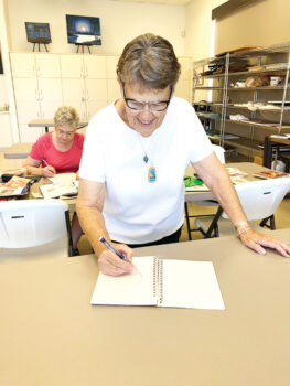 Kathy Arend will demonstrate cartooning.
