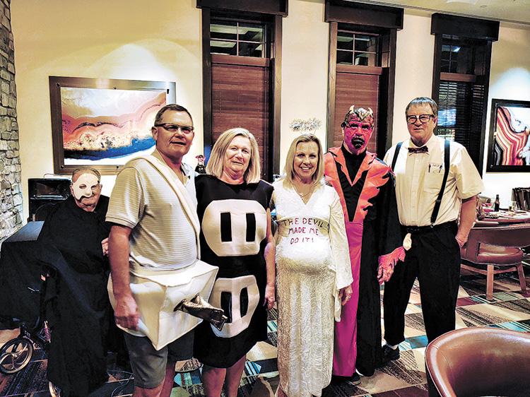 From left to right: Thomas Kratz, Dianna Kratz, Kim Gibbs, Ron Gibbs, and David Disher