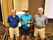 Bob Kleinke, Sparky Gavin, and Kent Jensen