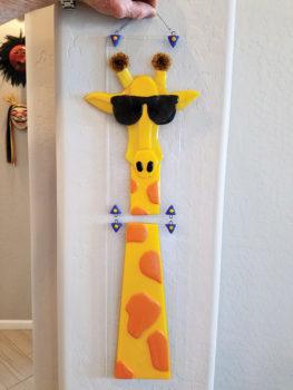 A multi-jointed giraffe