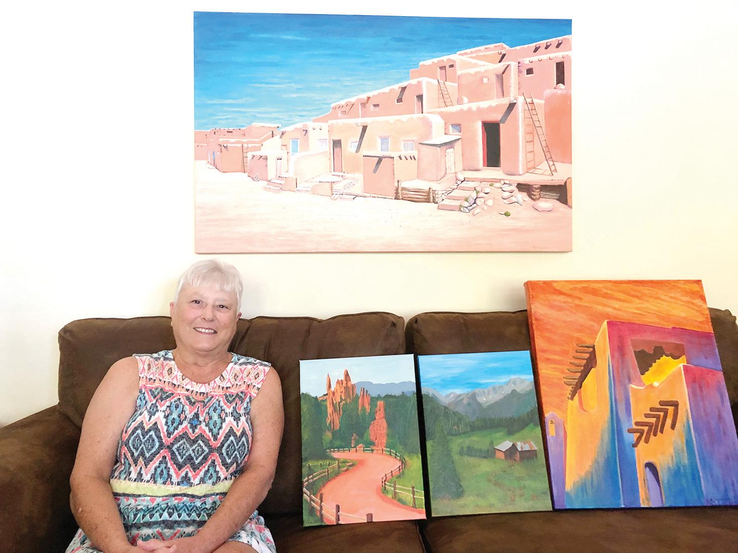 Artist of the month Nancy Friedman