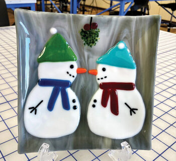 Mr. and Mrs. Snowpeople
