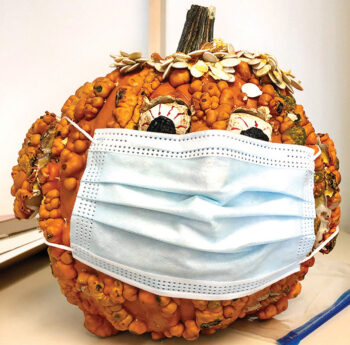 The masked pumpkin