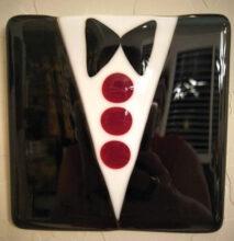 Tuxedo plate by Mary Nunn
