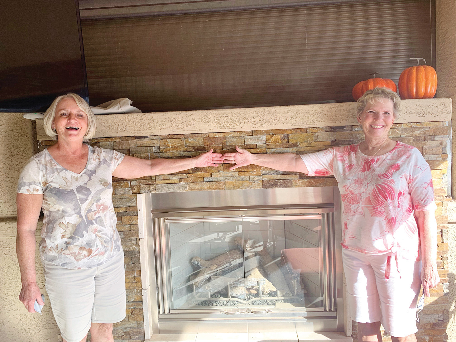 Congratulations to our winners this year, Rhonda McGree (right) for low gross and Mary Nielsen (left) for low net.