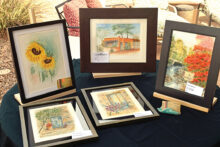 Paula is another one of our many talented artists who does both watercolor and acrylic painting.
