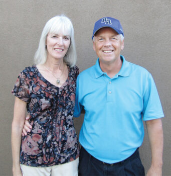 Pastor Ron Hunt and Choir Director Lisa Hunt