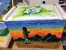 John Clampitt's laundry basket