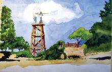 John Clampitt's RR windmill