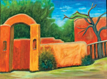 Arched Adobe by Nancy Friedman