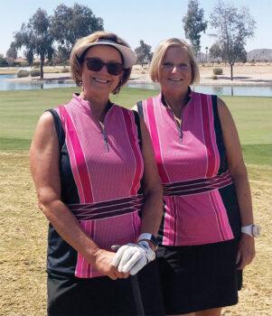 Susan Worner and Fran Fowler